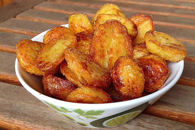 kokt potatis i ugn